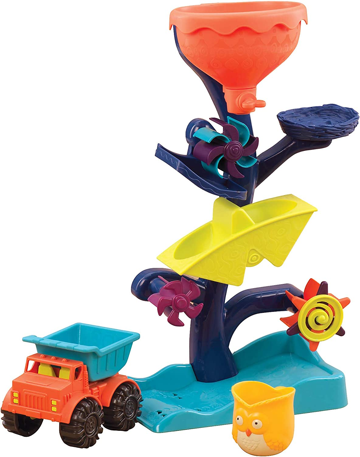 B. toys by Battat – Wheel Max 86% OFF About Waterfalls Water Quantity limited Owl