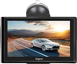 2020 Navigation für Auto, Aigoss 7 Zoll Touchscreen 8GB LKW PKW KFZ GPS Navi..