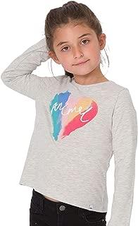 Animal Bow Girls Long Sleeve T-Shirt
