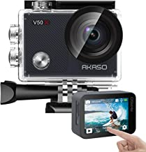 AKASO V50X Native 4K30fps WiFi Action Camera with EIS...