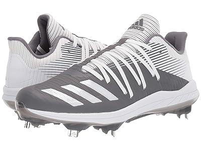 adidas Afterburner 6 (Grey Four/Footwear White/Silver Metallic) Men