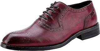 [ウェッション] メンズ 本革 ビジネスシューズ ブローグ シューズ フォーマル レースアップ メダリオン 紳士靴 男性 面接 通勤 出張 5カラー 23.0cm~28.5cm