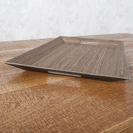 Preisvergleich für Eckiges Designer Tablett LADAN 55x35cm