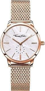 Womens Glam Spirit Rose Gold Tone Mesh Bracelet White Dial WA0303-265-213-33