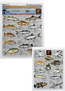 Tightline Publications Back Country/Flats & Fish Chart - High Quality/Detailed