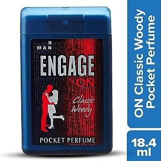 Engage ON Classic Woody Pocket Perfume, 18.4ml