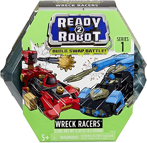 lowest Ready2Robot online sale Wreck discount Racers Robot Vehicles with Slime sale