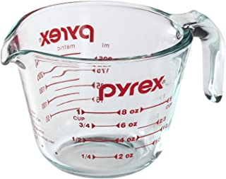Pyrex 885107797882 6001074 Measuring Cup, 8 Oz, Crear
