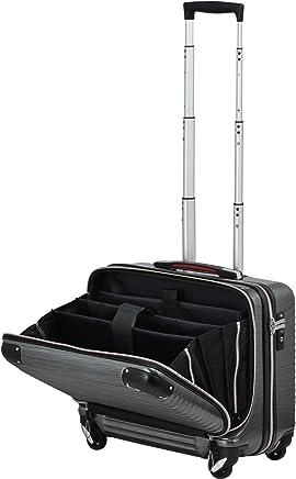 PROEVO(プロエボ)スーツケース MAX 軽量 小型 フロントオープン 【W-Receipt】 前ポケット
