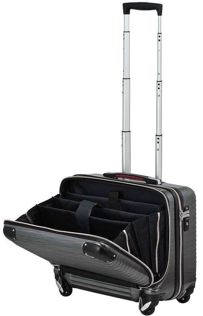 クラシックごちそうディーラーPROEVO(プロエボ)スーツケース MAX 軽量 小型 フロントオープン 【W-Receipt】 前ポケット