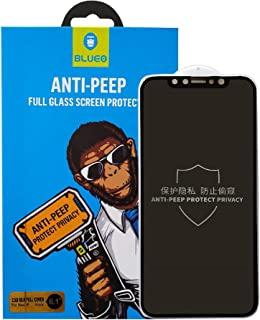 BLUEO Anti Peep Full Glass Screen Protector (Protect Privacy) For Iphone XS MAX 6.5