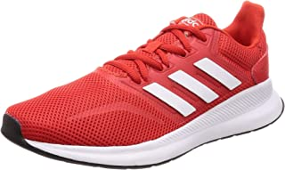 Adidas Runfalcon Shoes, Men's Running Shoes, Multicolour (Active Red/Ftwr White/Core Black), 9 UK (43.3 EU)