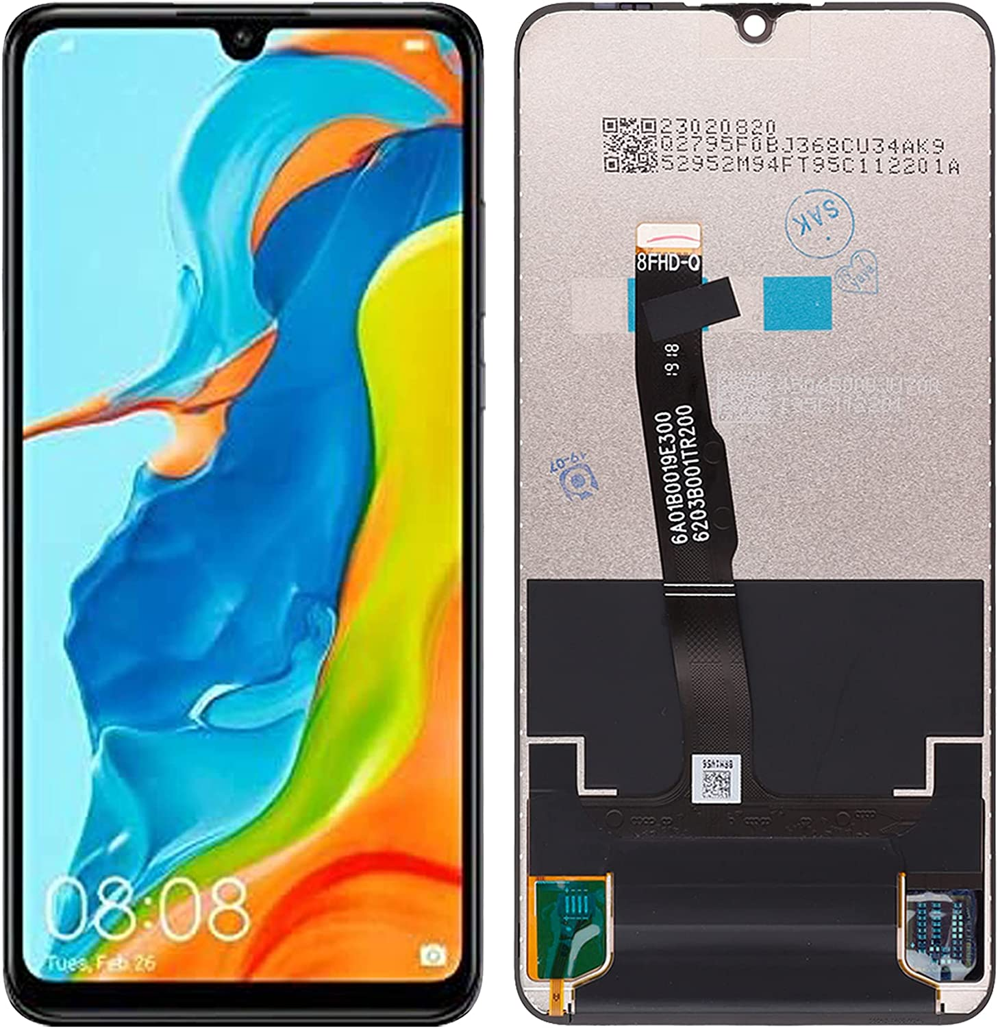 SwarKing LCD Display Austin Mall excellence Replacement Compatible Lite Huawei with P30