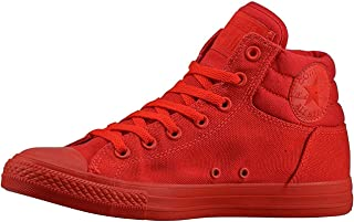Converse Boy's CT Fresh Hi Sneakers Canvas Red Size 12 C (D)