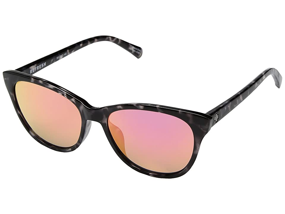 Spy Optic Spritzer (Black Tort/Gray/Pink Spectra) Sport Sunglasses
