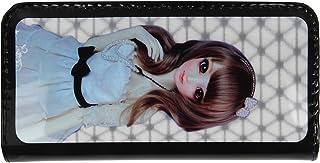 IIK Collection Women's Elegant Clutch,Wallet (Black) (IIK-WC-503-BLACK-4D)
