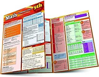 Math Common Core 5Th Grade (Quick Study: Academic)