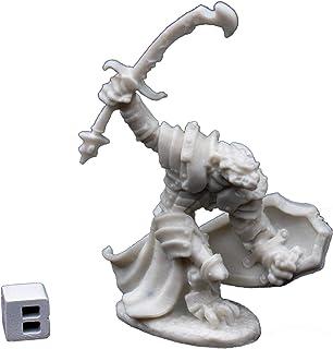 Reaper 77060: Dragonman Warrior - Dark Heaven Bones Plastic Miniature