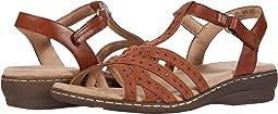Saddle Leather/Fabric