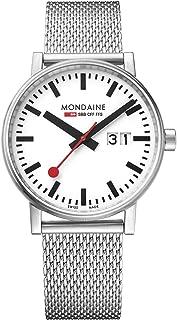 Mondaine - Evo2 - Reloj de Acero Inoxidable para Hombre y Mujer, MSE.40210.SM, 40 MM