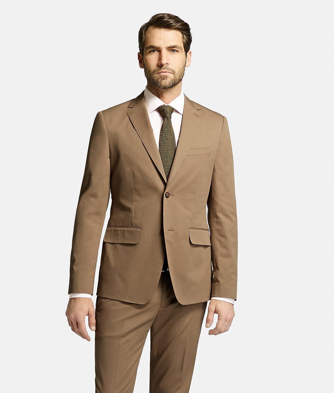Jack Spade Cotton Benton Suit Jacket Blazer 38 Khaki MSRP $698 P2RU1640