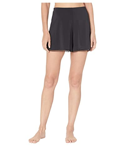 Natori Benefit 1/2 Slip Shorts (Black) Women