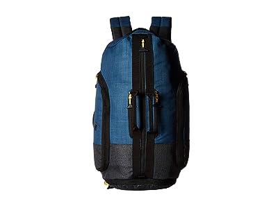 Solo New York Weekender Backpack Duffel (Black) Duffel Bags