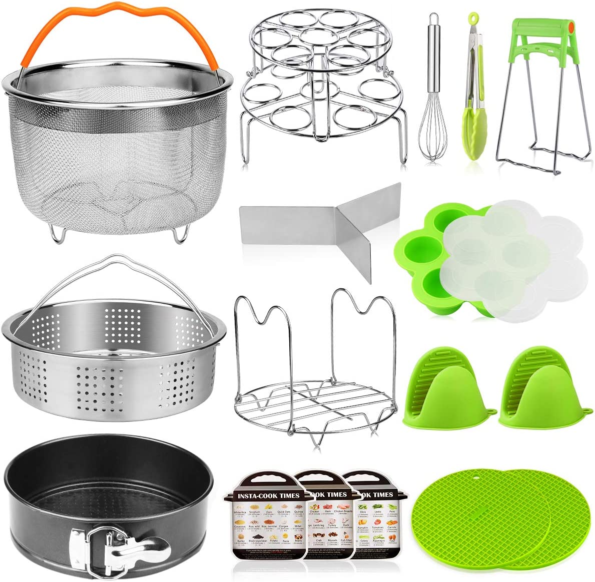 Fashion Aiduy 18 pieces Pressure Cooker Accessories with Compatible New mail order Set
