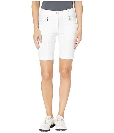 Jamie Sadock 19 Fly Front Hybird Shorts (Sugar White) Women