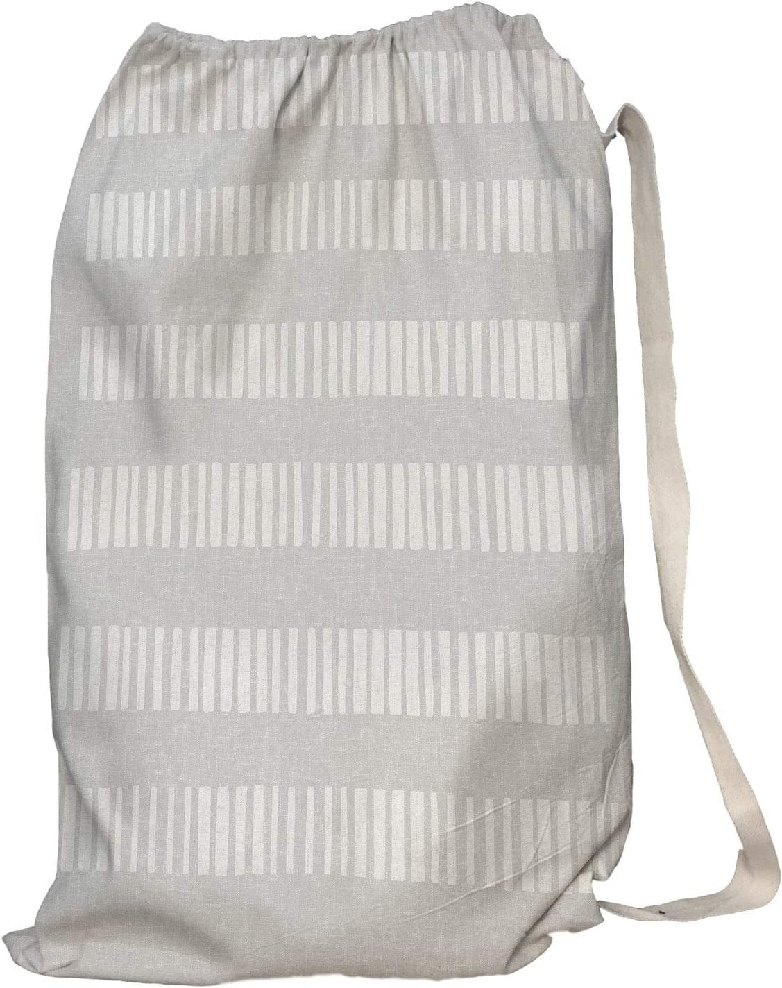 free shipping Unknown1 Selling Laundry Stripe Grey Bag Polyeste 28