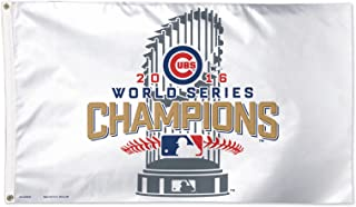 WinCraft Chicago Cubs World Series Champions 3' x 5' Deluxe Flag