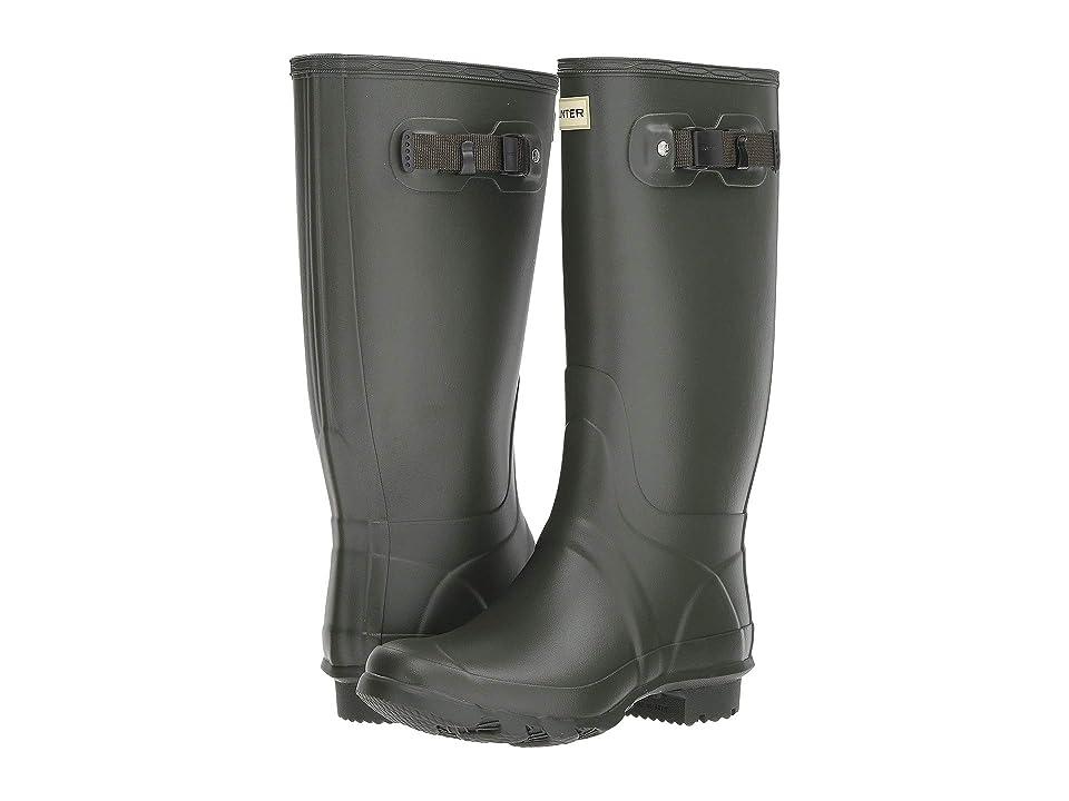 Hunter Huntress Field Boot (Dark Olive) Women