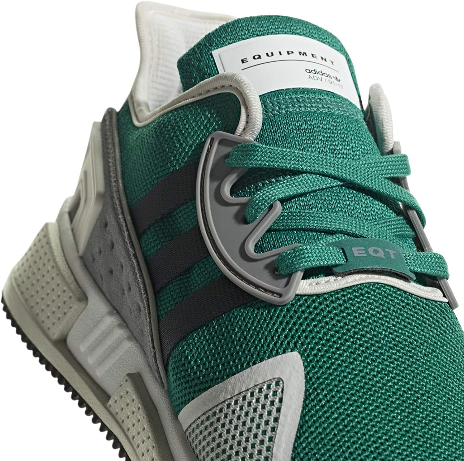 Adidas Originals Men's EQT Cushion ADV shoes (13, Green Black)