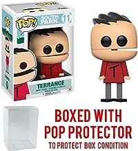 South Park Terrance Pop! Vinyl Figure and (Bundled with Pop BOX PROTECTOR CASE)