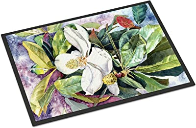 "Caroline's Treasures 8700JMAT Magnolia Indoor or Outdoor Mat, 24 x 36"", Multicolor"