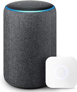 Echo Plus (エコープラス) 第2世代 - スマートスピーカー with Alexa、チャコール + Nature スマートリモコン Remo mini