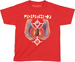 Journey Rock Band Music Group Colored Wings Logo Vintage Toddler T-Shirt Tee