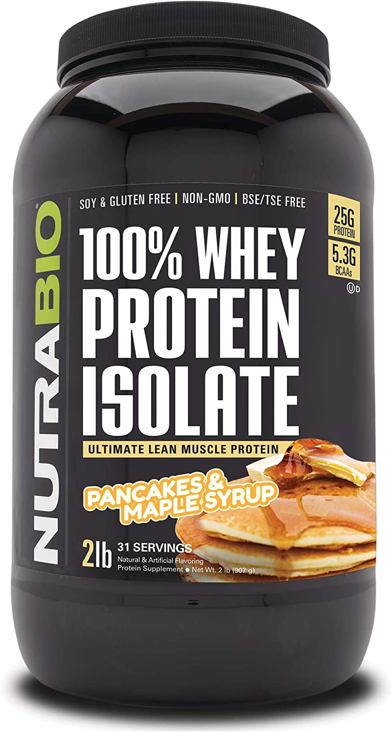 NutraBio 100% Cash special price Whey Protein Isolate - Industry No. 1 Complete Amino Profile Acid