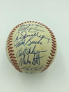 1989 All Star Game Team Signed Baseball W/Don Drysdale & Mike Schmidt PSA DNA