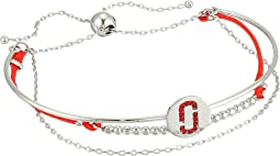 Marc Jacobs Double J Pave Friendship Bracelet