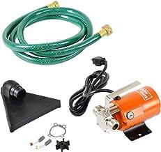 SuperHandy Utility Water Pump Portable 1/6 HP 330 GPH Dual Thread 3/4