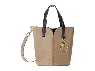 See by Chloe Gaia Small Tote (Motty Grey) Handbags