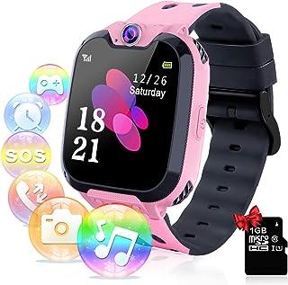 comprar comparacion Relojes para Niños - Música Smartwatch para Niños Niña Game Watch (Tarjeta SD de 1GB incluida Pantalla táctil Relojes Inte...