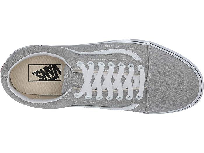Vans Old Skool™ Silver/true White Sneakers & Athletic Shoes
