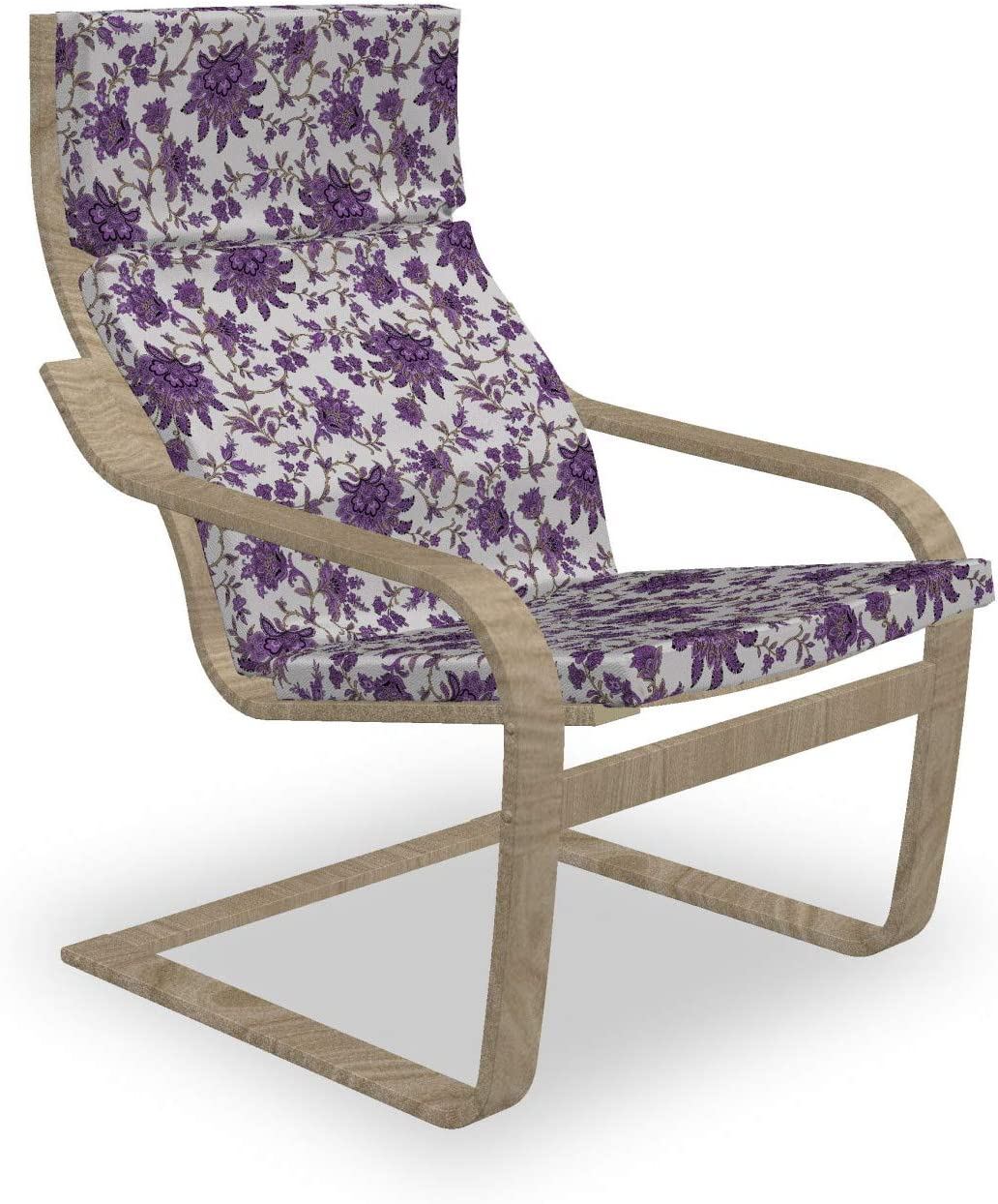 Cheap mail order shopping Max 58% OFF Ambesonne Floral Armchair Pad Romantically Slipcover and Arrang