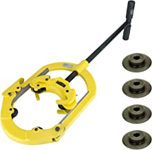 Steel Dragon Tools H8 Hinged 4-Wheel 6in. to 8in. Pipe with Set of 4 Cutter Wheels for Steel and Ductile Iron Pipe