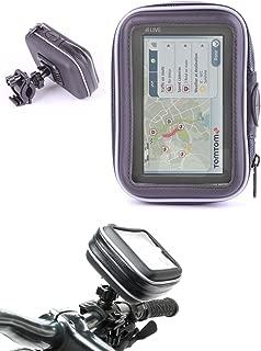 WESTIC FTWD-18XL Soporte para tel/éfono de bicicleta o Motocicleta Impermeable, Pantalla de 5 a 5,7 Pulgadas, Compatible con Smartphone, navegador, GPS, Apple, iPhone, Samsung Galaxy, etc.