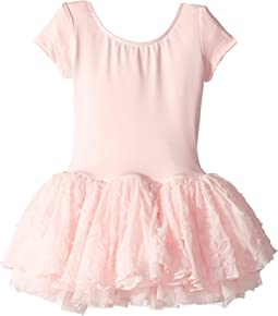 Cap Sleeve Tutu Dress (Toddler/Little Kids)