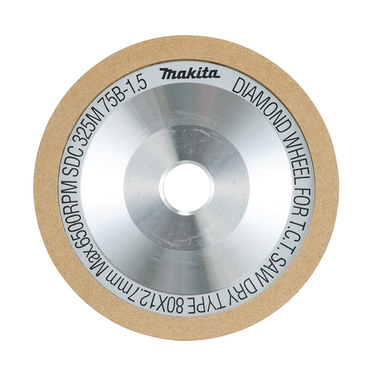 非公式政治家のパイントマキタ(Makita)  チップソー研磨機用ダイヤモンドホイール粒度325N A-17251 外径80