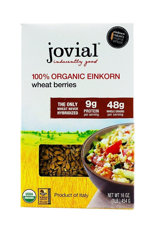 Jovial Einkorn Wheat Berries | 100% Organic Einkorn Wheat Berrie